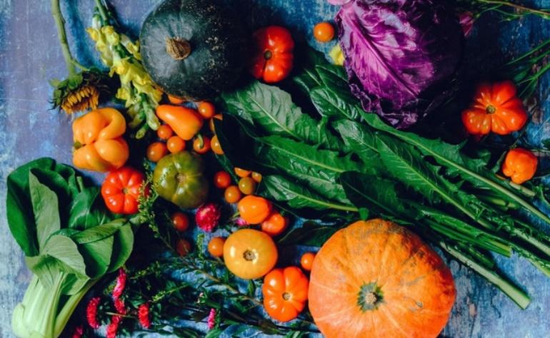 Frutta, verdura e colori