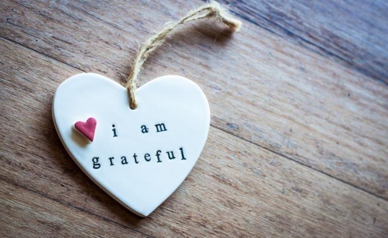 Di cosa sono grata nella mia vita oggi?