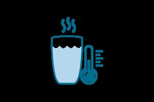 Magnesio Supremo si soglie facilmente in acqua tiepida o calda